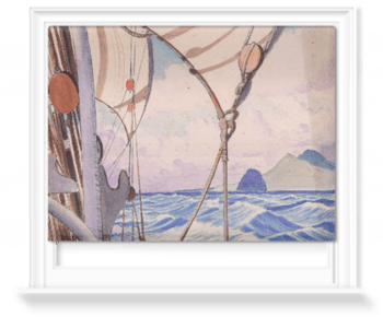 'Details Of Rigging On The Kylemore With Island†' Roller Blind