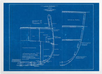 'Midship Section From HMS Fearless' Art Prints