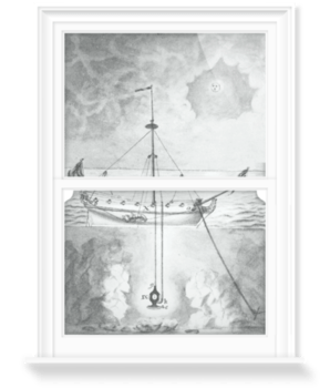 '18th century diving apparatus, II' Decorative Window Film