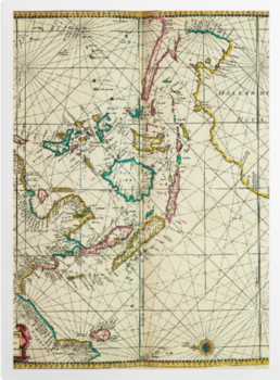 'A chart of the easternmost part of the East Indies' Art prints