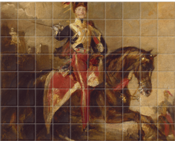'James Thomas Brudenell' Ceramic Tile Mural