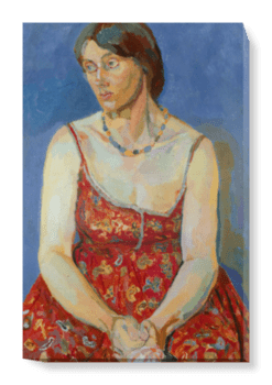 'Vanessa Bell (nÈe Stephen)' Canvas Wall Art