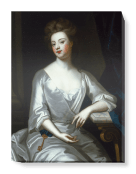 'Sarah Churchill (nÈe Jenyns), Duchess of Marlborough' Canvas Wall Art
