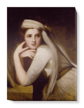 'Emma, Lady Hamilton' Canvas Wall Art