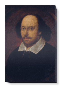 'William Shakespeare' Canvas Wall Art