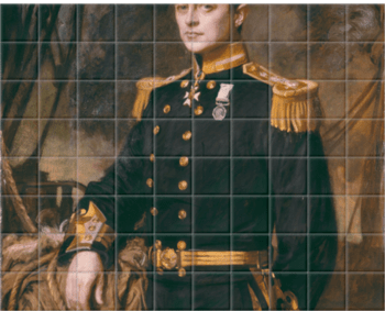 'Robert Falcon Scott' Ceramic Tile Mural