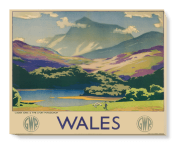 'Wales' Canvas Wall Art