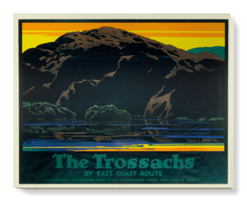 'The Trossachs' Canvas Wall Art
