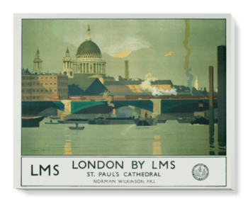'London by LMS' Canvas Wall Art