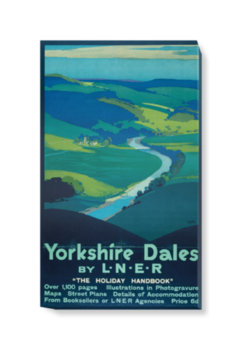 'Yorkshire Dales' Canvas Wall Art