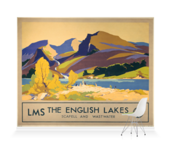 'The English Lakes' Wallpaper Mural
