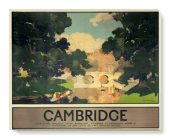 'Cambridge' Canvas Wall Art