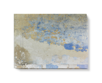 'Peeling Paint' Canvas Wall Art
