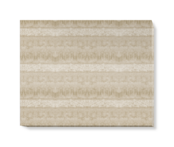 'Servants Quarters Stripe Parchment' Canvas wall art