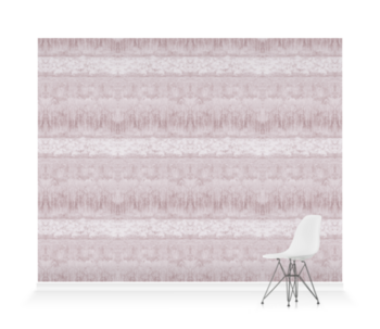 'Servants Quarters Stripe Amethyst' Wallpaper murals