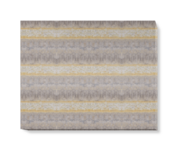 'Servants Quarters Stripe Mineral' Canvas wall art