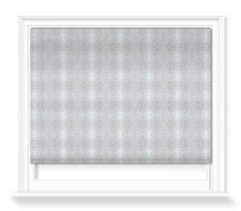 'Glasshouse Check Dove Grey' Roller blinds