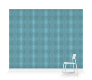 'Glasshouse Check Teal' Wallpaper murals