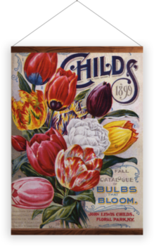 'Mayflower Tulips' Wall Hanging