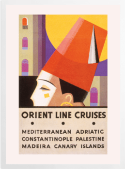 'Orient Line Cruise Brochure' Art Prints