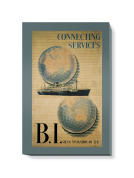 'Connecting Services with BI' Canvas Wall Art