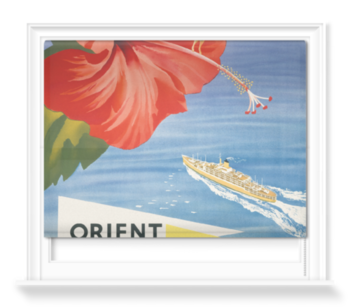 'Orient Line Trans Pacific' Roller Blind