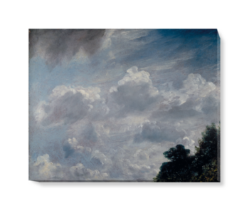 'Cloud Study, Hampstead, Tree at Right' Canvas Wall Art