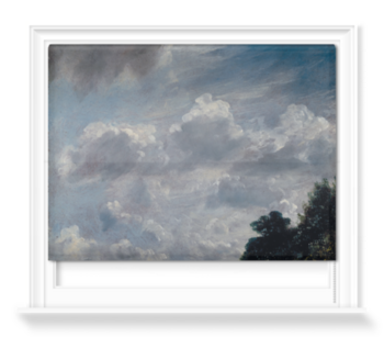'Cloud Study, Hampstead, Tree at Right' Roller Blind