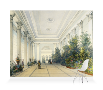 'Winter Garden Interior' Wallpaper Mural