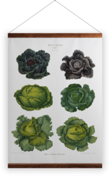 'Cabbages' Wall Hanging