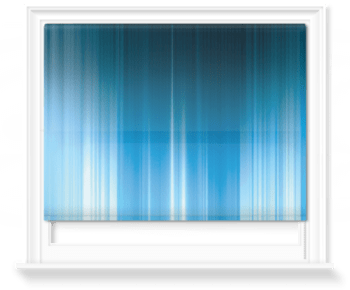 'Kinetic Abstract Sky' Roller Blind