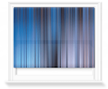 'Kinetic Abstract Sky II' Roller Blind