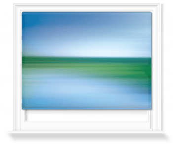 'Kinetic Abstract Sky IV' Roller Blind