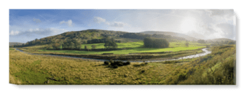 'Mellor Knoll and Totridge Fell' Canvas Wall Art