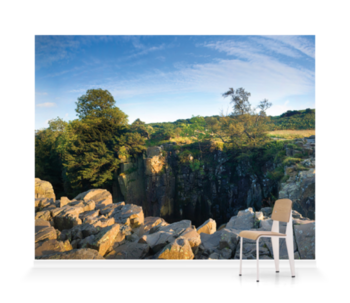 'High Force Waterfall' Wallpaper Mural