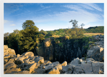 'High Force Waterfall' Art Prints