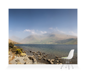 'Wastwater and Scafell Pike' Wallpaper Mural