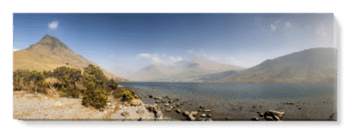 'Wastwater and Scafell Pike' Canvas Wall Art