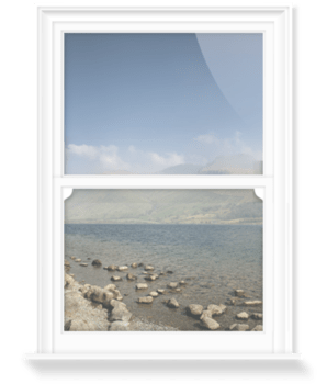 'Wastwater and Scafell Pike' Decorative Window Film