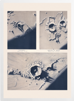 'Moon crater' Art Prints