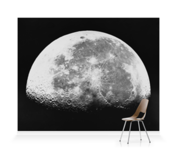 'Transparency, 12x10 - Moon, last quarter' Wallpaper Mural