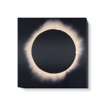 'Eclipse of the Sun, 7 August 1869' Canvas Wall Art