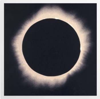 'Eclipse of the Sun, 7 August 1869' Art Prints