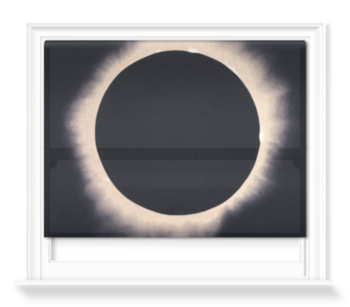 'Eclipse of the Sun, 7 August 1869' Roller Blind