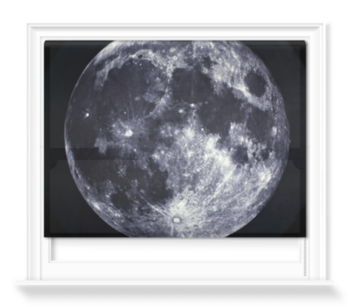 'Full Moon, between 1858 and 1862' Roller Blind