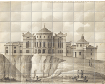 'Culzean Castle' Ceramic Tile Mural