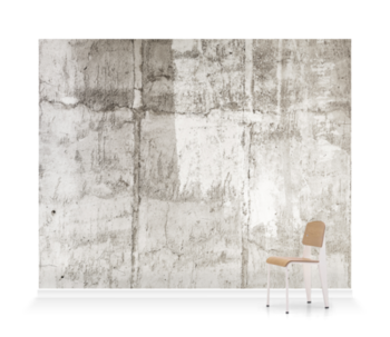 'Textured Concrete' Wallpaper Mural