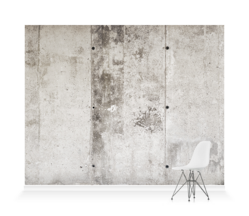 'Concrete Bands' Wallpaper Mural