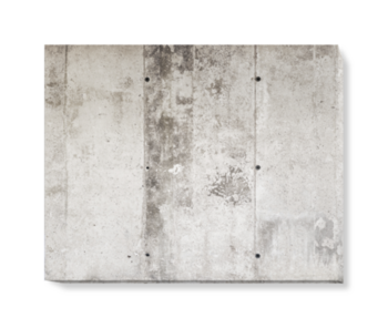 'Concrete Bands' Canvas Wall Art