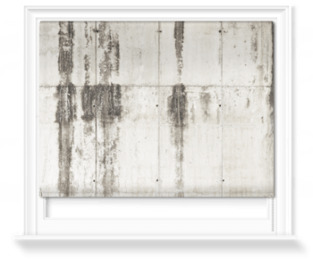 'Cracked Paint' Roller Blind